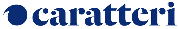 Caratteri Agency • Marketing e comunicazione digitale a Torino Logo